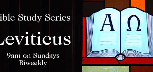 Leviticus Online Bibe Study 9 am on Sundays Biweekly