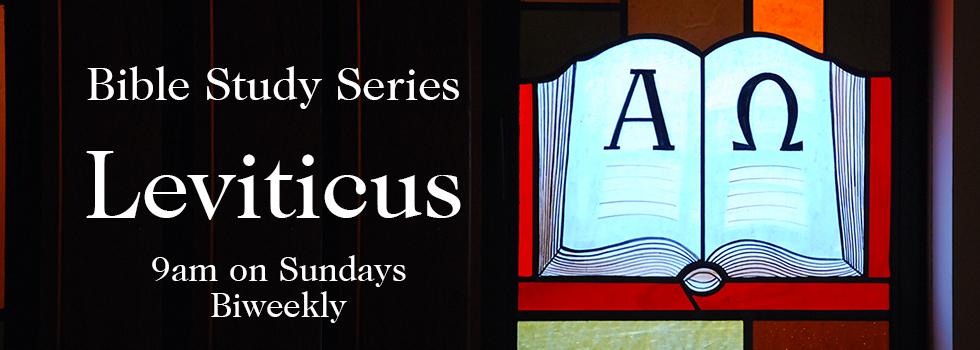 Bible Study – Leviticus